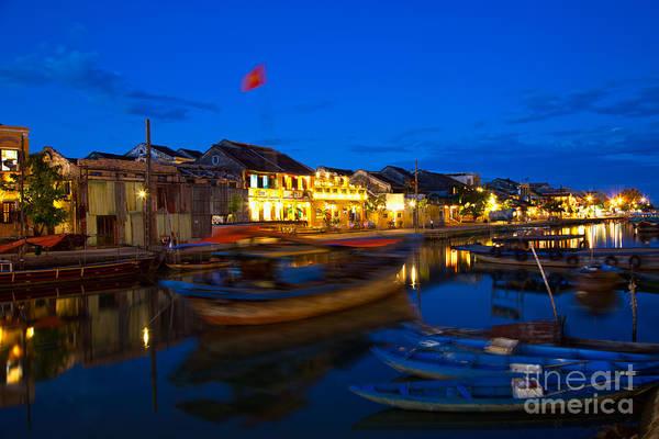 Hoi An Photograph - Night View Of Hoi An City Vietnam by Fototrav Print