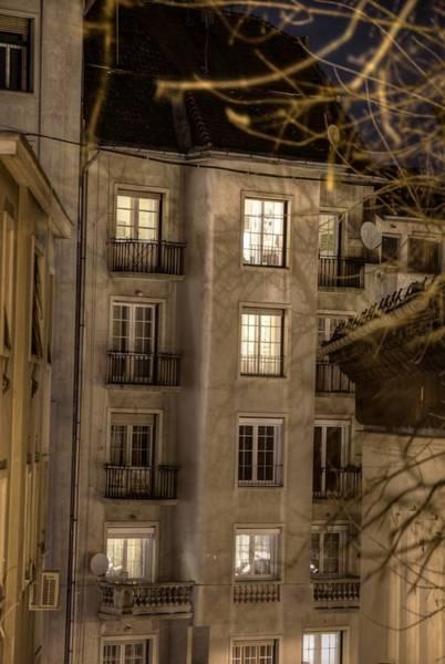 Eastern Europe Digital Art - Night Windows by Nathan Wright