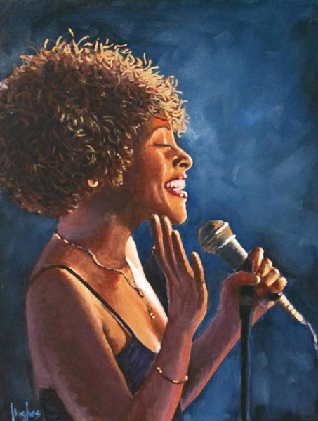 Painting - Nightclub Singer by Kevin Hughes