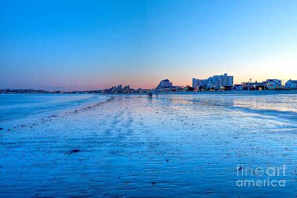 Photograph - Nightfall At Revere Beach by Susan Cole Kelly