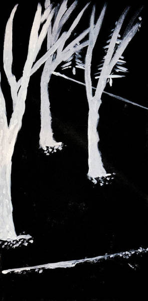 Ambiguous Painting - Nightfall by Joshua Enomoto