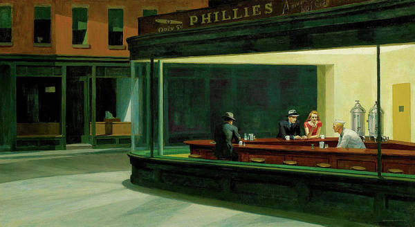 - Nighthawks by Edward Hopper