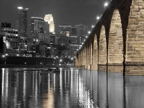 Wall Art - Photograph - Nightlight Landscape by Near and Far Photography