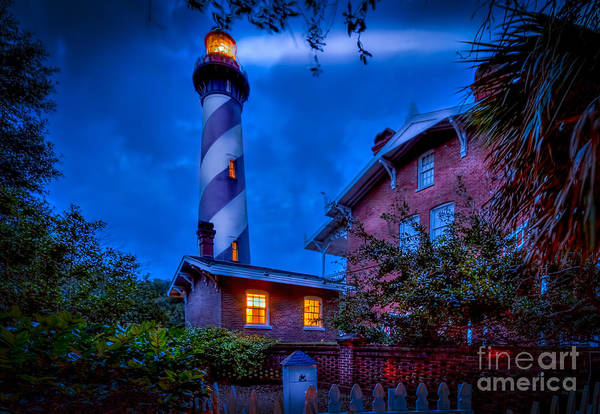 St Augustine Photograph - Nightshift by Marvin Spates