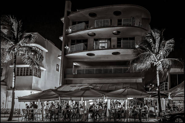 Photograph - Nighttime Dining  by Melinda Ledsome