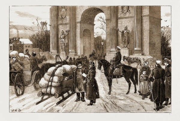Duty Drawing - Nihilism In Russia Closing Of The Gates Of St by Litz Collection