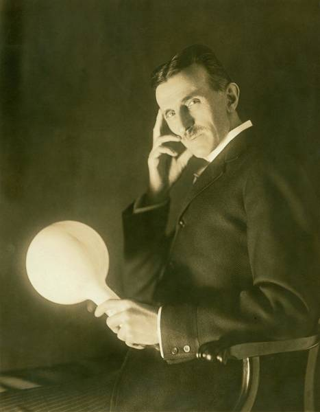 Wall Art - Photograph - Nikola Tesla by Nikola Tesla Museum/science Photo Library