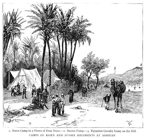Wall Art - Painting - Nile Expedition, 1884 by Granger