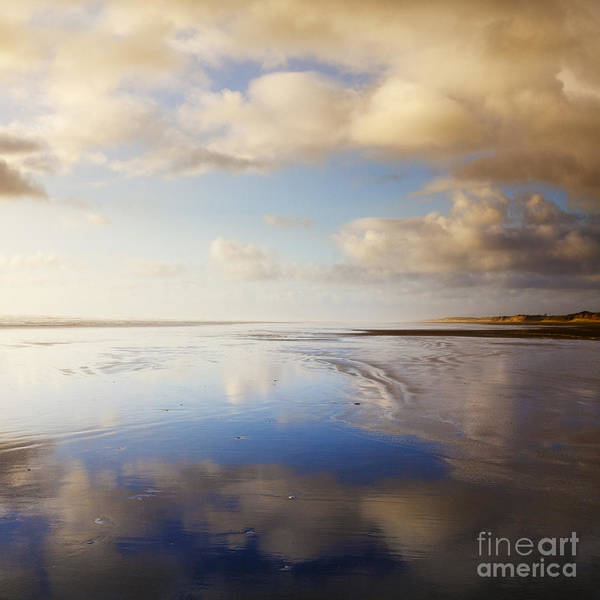 Square Mile Wall Art - Photograph - Ninety Mile Beach Northland New Zealand by Colin and Linda McKie