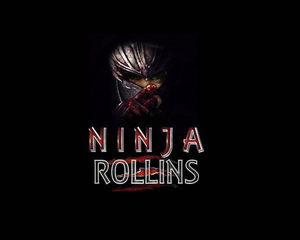 Wwe Wall Art - Digital Art - Ninja Rollins by Anibal Diaz