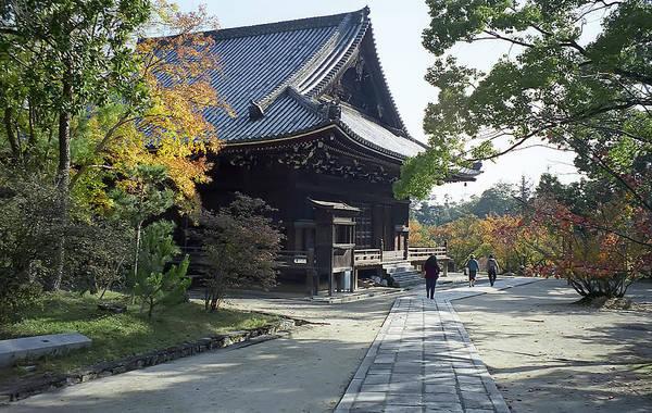 Kansai Wall Art - Photograph - Ninna-ji Temple Compound - Kyoto Japan by Daniel Hagerman