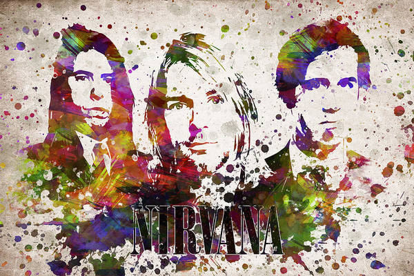 Wall Art - Digital Art - Nirvana In Color by Aged Pixel