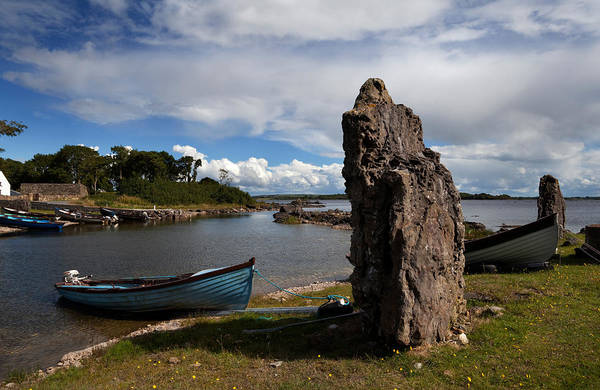 Angling Photograph - Nishmicatreer Island In Lough Corrib by Panoramic Images