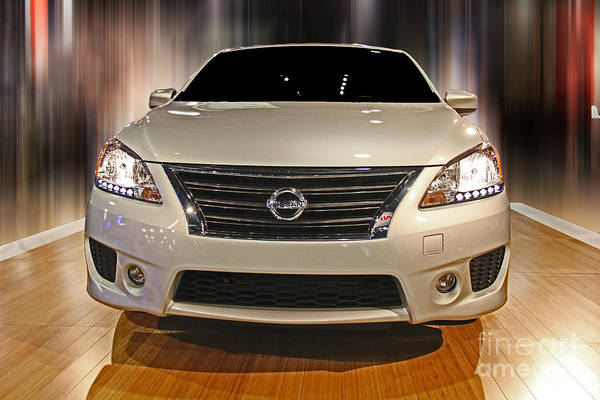 Wall Art - Photograph - Nissan Altima by Tom Gari Gallery-Three-Photography