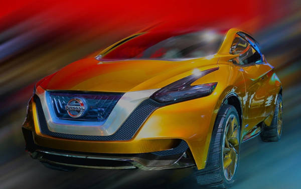 Photograph - Nissan Resonance Hybrid  2013 by Dragan Kudjerski