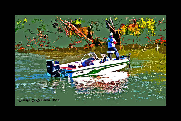 Photograph - Nitro Bass Fishing by Joseph Coulombe