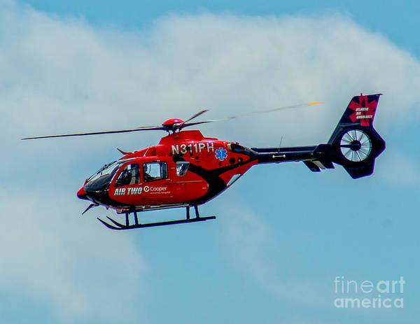 Photograph - Nj Medivac Air 2 by Nick Zelinsky