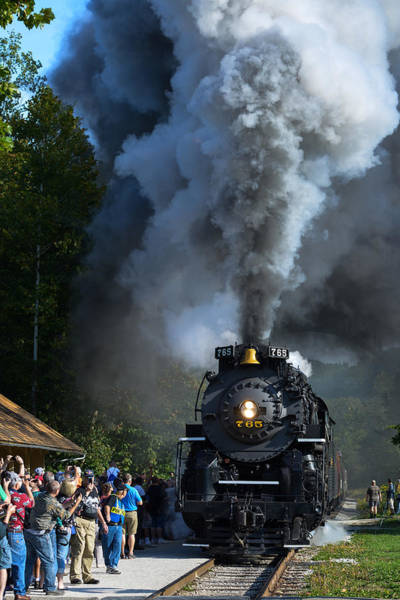 Photograph - Nkp765 Arrival by Clint Buhler