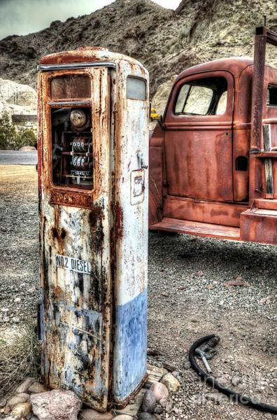 Photograph - No. 2 Diesel by Eddie Yerkish