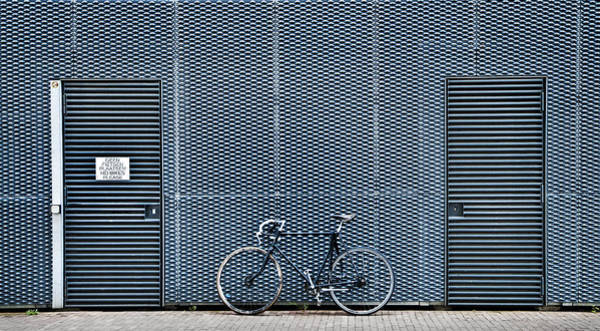 Wall Art - Photograph - No Bikes Please by Linda Wride