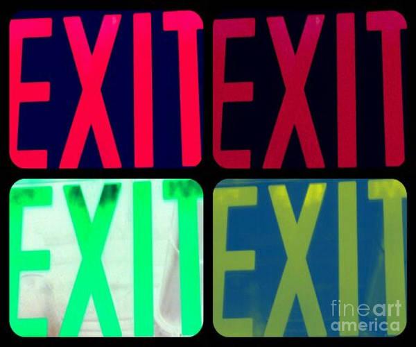 No Exit Art Print