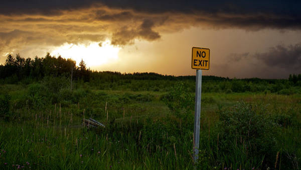 Photograph - No Exit by Trever Miller