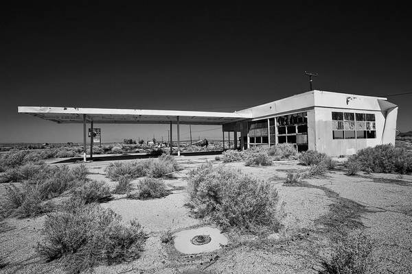 Gas Station Photograph - No Gas by Peter Tellone