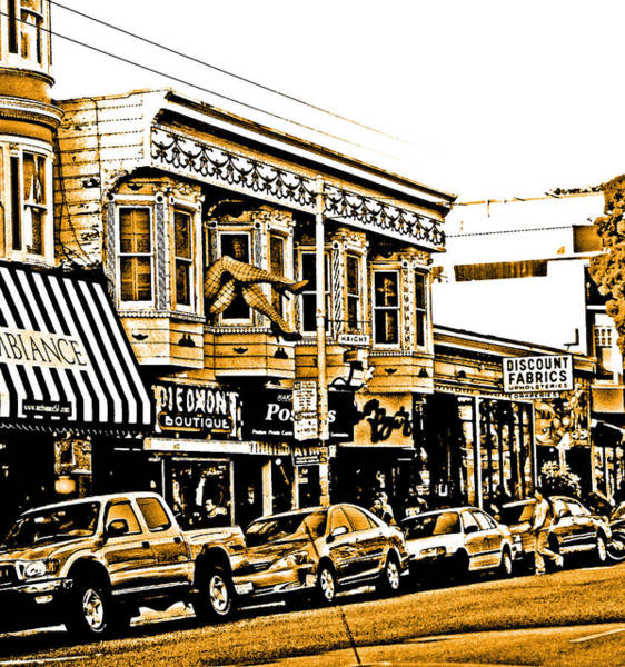 Digital Art - No Haight Here by Joseph Coulombe