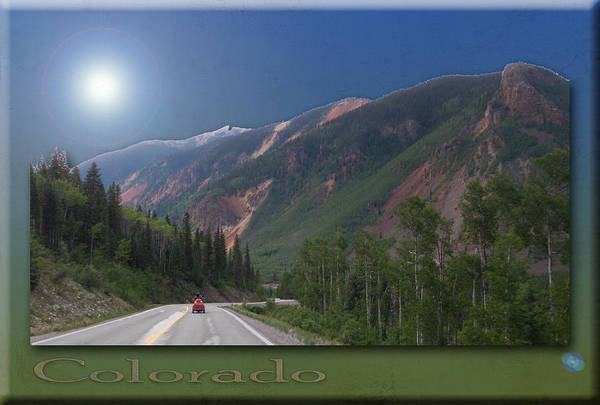 Photograph - Midnight Motorcycle In Colorado by Patti Deters