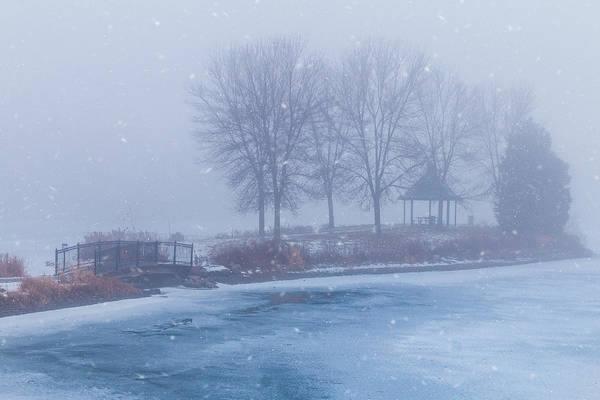 Photograph - Winter Fog by Patti Deters