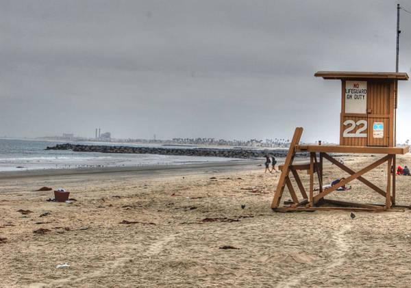 Photograph - No Lifeguard On Duty by Bill Hamilton