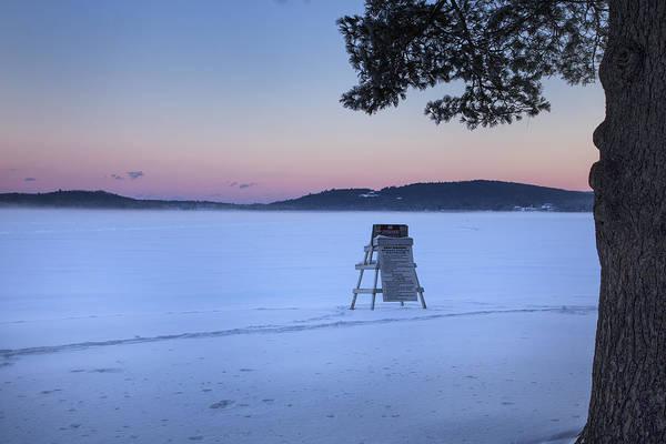 Photograph - No Lifeguard Spofford Lake by Tom Singleton