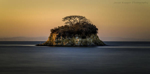No Man Is An Island Art Print