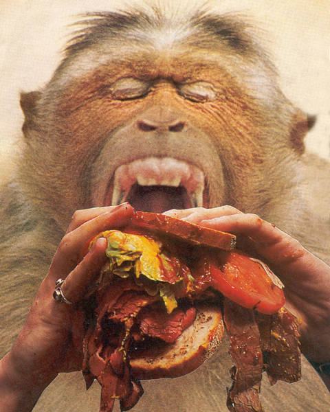 Political Propaganda Mixed Media - No More Fast Food by Jonathon Prestidge