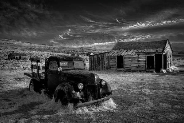 Monochrome Photograph - No More Gold... by Rob Darby