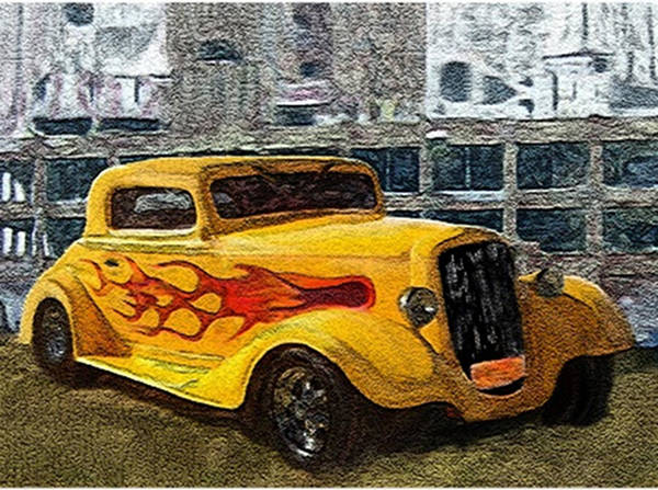 Painting - No Parking by Dennis Buckman