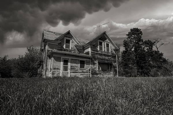 Abandoned House Wall Art - Photograph - No Place Like Home by Aaron J Groen