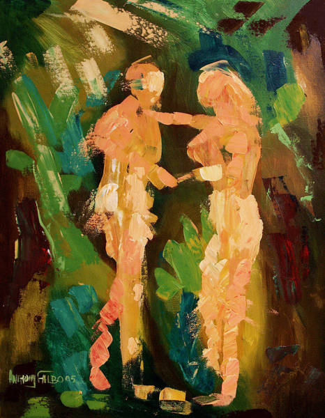 Painting - No Shame by Anthony Falbo