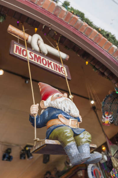 Photograph - No Smoking Gnome by Scott Campbell
