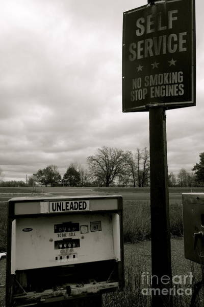 Photograph - No Smoking Stop Engines by Jacqueline Athmann