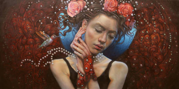 Wall Art - Painting - No Title 2 by Graszka Paulska