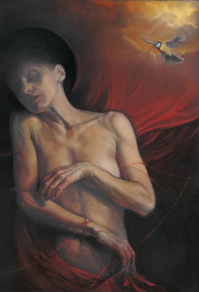Wall Art - Painting - No Title 4 by Graszka Paulska