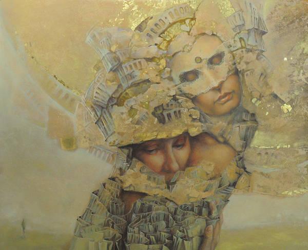 Wall Art - Painting - No Title 6 by Graszka Paulska