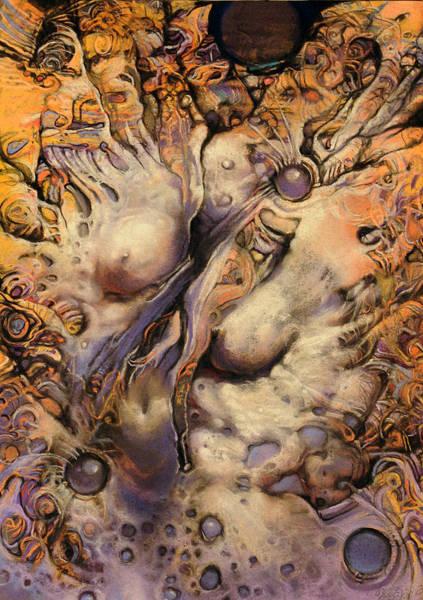 Wall Art - Painting - No Title 7 by Graszka Paulska