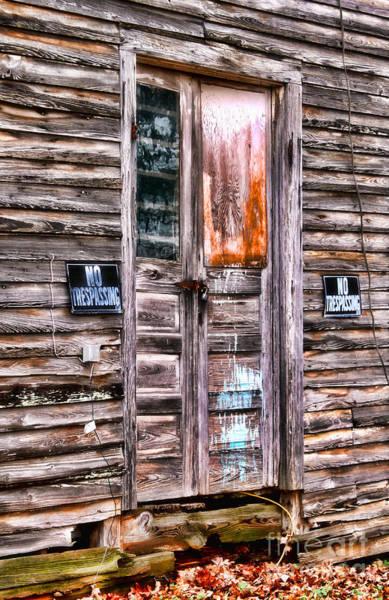 Photograph - No Trespassing By Diana Sainz by Diana Raquel Sainz