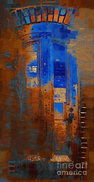 Painting - No Welcome by RC DeWinter