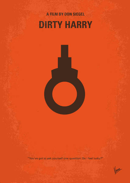 Cinema Digital Art - No105 My Dirty Harry Movie Poster by Chungkong Art