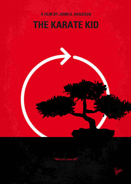 Cinema Digital Art - No125 My Karate Kid Minimal Movie Poster by Chungkong Art