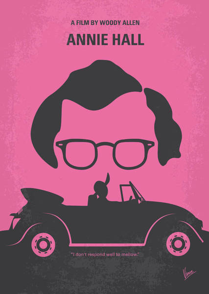 Action Digital Art - No147 My Annie Hall Minimal Movie Poster by Chungkong Art