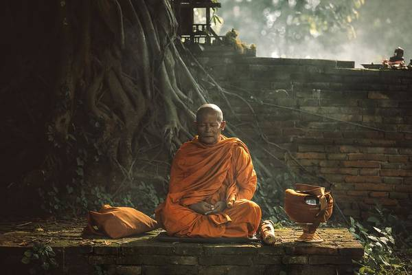 Buddhism Photograph - No.17 by Adirek M